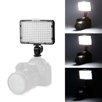 Photo 176 LED Ultra Bright Dimmable on Camera Video Light for Canon,Nikon,Sony