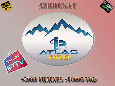 Atlas Pro IPTV ONTV Ultimate 12 mois Smart tv ios android MAG avec VOD & replay