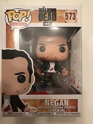 Funko Pop Vinyl The Walking Dead - Negan clean shaven with Lucille (573) T3