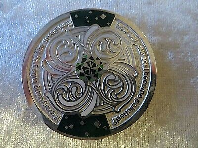 Geocaching Harmony Serenity Geocoin Chris Macky 2Nd In Series Collectable