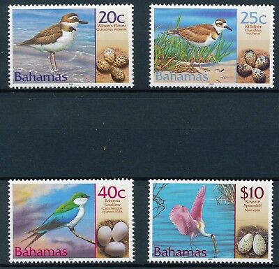 [H11885] Bahamas 2002 : Birds - Good Set of Very Fine MNH Stamps - $46