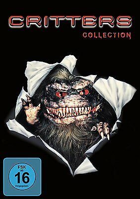 Critters They Are da! Part 1 2 3 4 Collection 4 DVD Box New