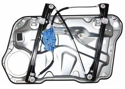 Vw Golf Mk4 Front Right Driver Side Electric Window Regulator With Panel *new*