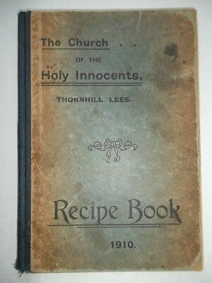 THORNHILL LEES  Dewsbury - RECIPE BOOK 1910 - Edwardian Local History Dewsbury