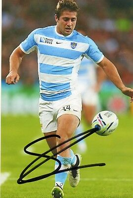 Santiago Cordero - Argentina Rugby - Signed 6X4 Photo