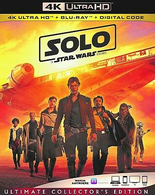 Solo: A Star Wars Story (4k Ultra HD/Blu ray)