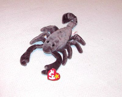 Ty Beanie Babies:  Stinger (Scorpion) - Original Tags Attached