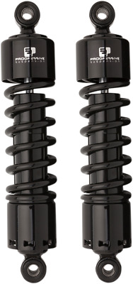 "Progressive 412 Black 11"" Standard Rear Shocks for 91-17 Harley Dyna FXDB FXDL"