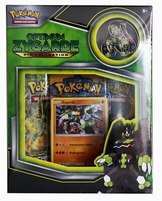 Pokemon Zygarde Pin Box deutsch