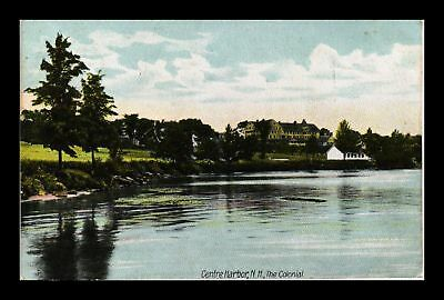 Dr Jim Stamps Us The Colonial Centre Harbor New Hampshire View Postcard