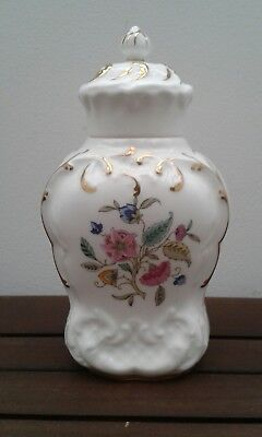 Beautiful Vintage Minton Haddon Hall Bone China Ginger Jar  Excellent Condition