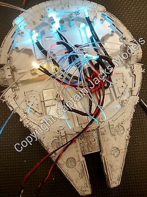 Star Wars Model Led & Fibre Optic Bandai 1/144 Millennium Falcon Light Kit - FLA