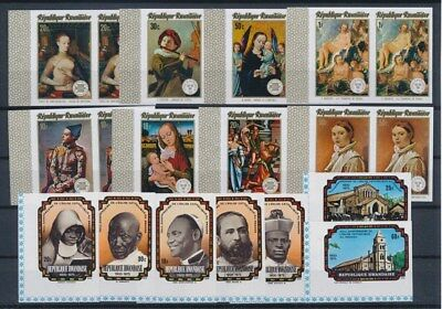 [G91170] Rwanda good imperforated lot Very Fine MNH stamps