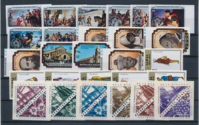 [G91173] Rwanda good imperforated lot Very Fine MNH stamps