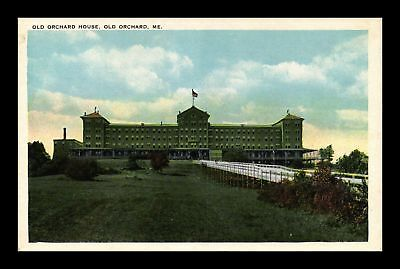 Dr Jim Stamps Us Old Orchard House Maine Exterior View White Border Postcard