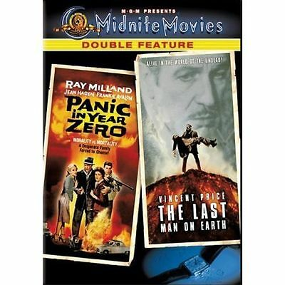 Midnight Movies: Panic in Year Zero/Last Man on Earth DVD Vincent Price