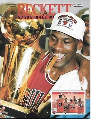 Beckett Basketball Magazine # 38  Michael Jordan Cover