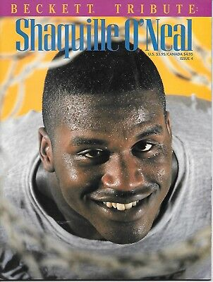 Beckett Basketball Magazine # 4  Shaquille O Neal Tribute  Cover