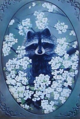 """Wendy Fahey tole painting pattern """"Bloomin Bandit"""""""