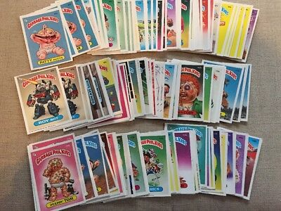 1985-1986 Garbage Pail Kids Cards Stickers Lot of 137