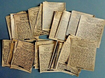US Army WW2 Letters Lot 40+ V-Mail PFC TALLY Company B 115th Infantry Tupelo MS
