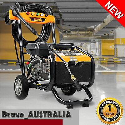 High Pressure Washer Cleaner 4800 PSI Petrol 8HP Water Gurney 15m Hose NEW