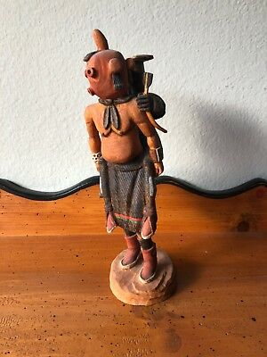 """Clay Mud head signed Fred stands 10"""" tall"""