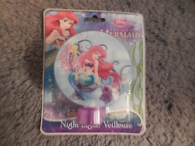 The Little Mermaid Night Light #1 (Brand New)