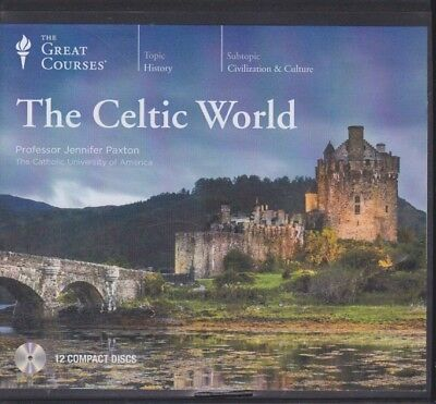 THE CELTIC WORLD by THE GREAT COURSES ~ 12 CD'S 24 LECTURES + PDF BOOK