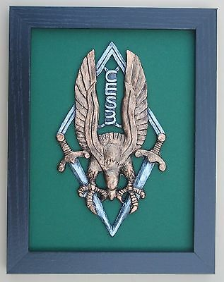 Large Scale Framed French  Parachute School CES3 Eagle France