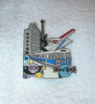 *Hard Rock Cafe Boston 2003 MBTA Blue Line Pin