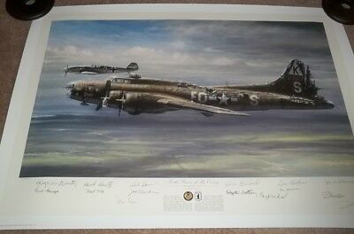 In The Presence Of My Enemy Signed By Charlie Brown Artist Proof John D Shaw WOW