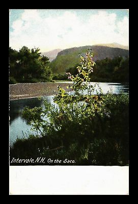 Dr Jim Stamps Us Intervale New Hampshire The Saco View Postcard