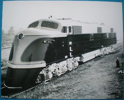 General Motors Photo EMD Demonstrator E3A Diesel Locomotive 1939 GM KCS RR