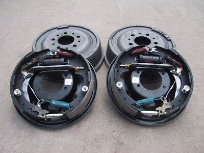"""9"""" Ford Bolt-On 11"""" Drum Brake Kit - 9 Inch - Big Ford Old-Style - 1/2"""" Ends"""