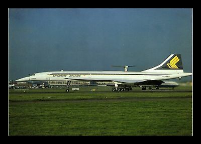 Dr Jim Stamps Singapore Airlines Airplane Heathrow Continental Size Postcard
