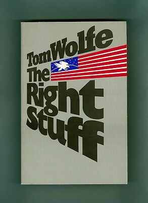 Tom Wolfe THE RIGHT STUFF John Glenn Alan Shepard NASA Space Chuck Yeager MOVIE