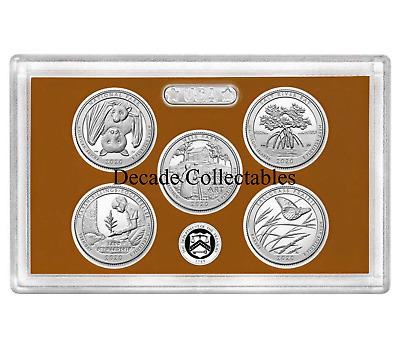 2019 S Clad Proof America The Beautiful Quarter Set No Box or Coa IN HAND