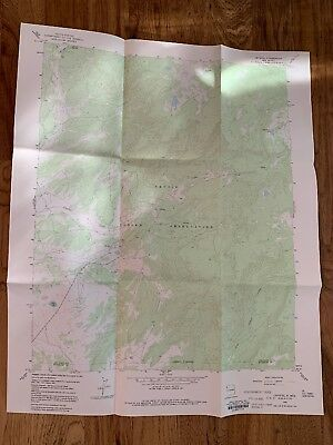 Crystal New Mexico NM USGS Topographic Map Topo 7.5 Minute Vintage 1966 Navajo