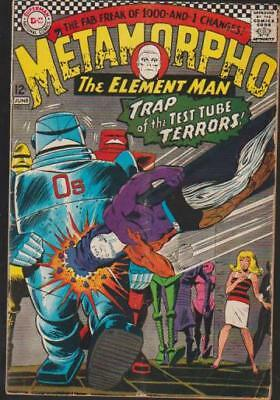 Metamorpho # 12 1St App Of Chemo-Robots L@@k!! Key!! Very Fine