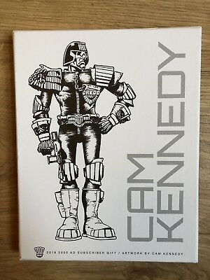 2000ad Limited Edition Subscribers Gift Box Of Cam Kennedy Artwork
