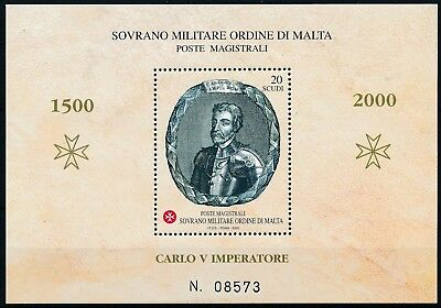 [H15729] Malta 2000 CHARLES QUINT Good sheet very fine MNH