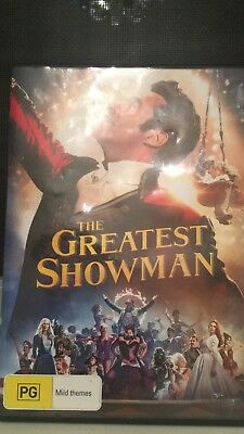 Greatest showman DVD   DVD disc. Including behind the scens and sing along!