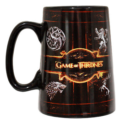 HBO Game Of Thrones House Sigil Ceramic Mug Collector Edition 14-Ounce