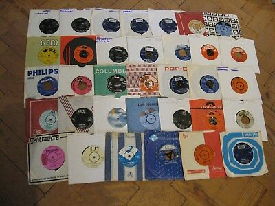 Sounds Of Late 60s BRITISH Job Lot Of Vintage 45rpm Single Records AMEN CORNER