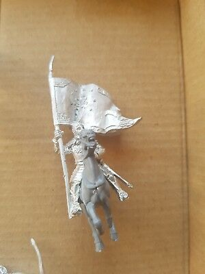 games workshop  Lord of the rings metal gondor banner mounted minas tirith