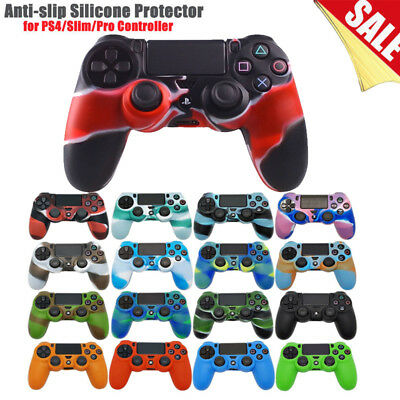 For PS4 PlayStation 4 Controller Camouflage Silicone Case Cover Skin Protector