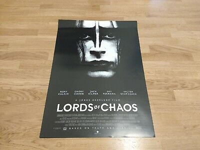 2018 Lords of Chaos Film Poster 60 x 84 cm