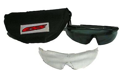 ARMY Surplus Oakley ESS ICE Ballistic Protect Eyeshld Shooting Glasses CLASS E