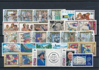 [G126397] Bahamas good lot of stamps very fine MNH